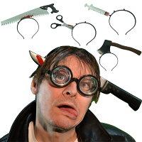 愚人節 KUSO療癒整人玩具周邊商品推薦萬聖節恐怖派對化妝舞會整蠱搞怪頭箍穿頭道具cosplay愚人節玩具