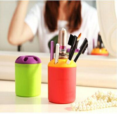 【省錢博士】日式風格牙刷架 筆筒架顏色隨機 - 限時優惠好康折扣