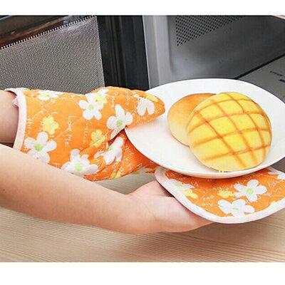 【省錢博士】廚房用品 / 微波爐專用防燙手套 / 隔熱墊兩件套組 / 隨機出貨 39元