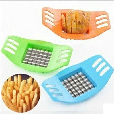 【省錢博士】創意廚房用品 / 多功能切菜器 / 不銹鋼手動切條器 / 馬鈴薯切片