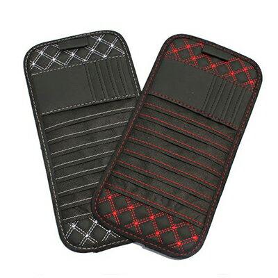 【省錢博士】 ◆ 汽車遮陽板收納包 ◆ 汽車遮陽板CD收納袋 / 隨機出色 - 限時優惠好康折扣