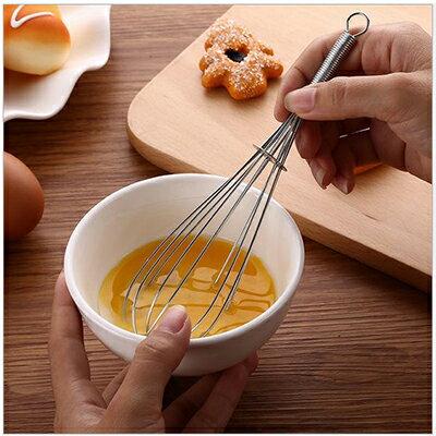 【省錢博士】廚房用具 / 不鏽鋼手動打蛋器 / 攪拌器 / 和麵器 19元
