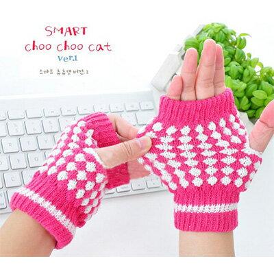 【省錢博士】保暖鳳梨手套 / 半指露指觸屏手套 / 無指打字 / 魔術手套 29元