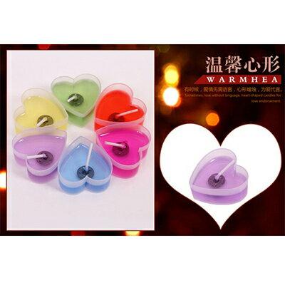 【省錢博士】浪漫心型蠟燭 / 果凍蠟燭 / 愛心擺圖蠟燭10入 79元
