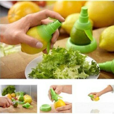 【省錢博士】檸檬噴霧器 / 創意水果榨汁器 2個裝 / 隨機色