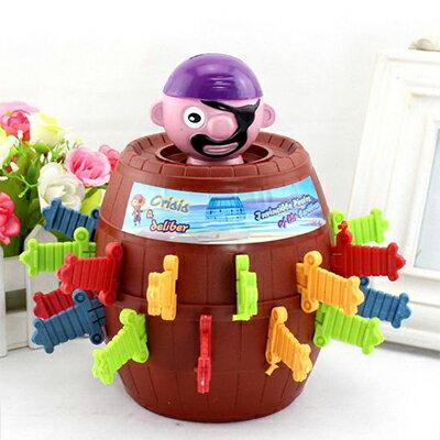 玩具海盜桶(隨機款) / 桌遊 派對驚喜 親子同樂