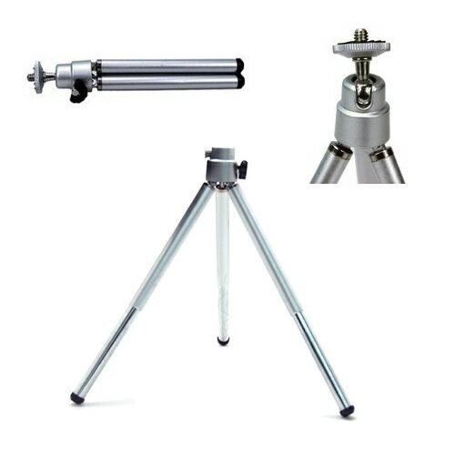 【省錢博士】鋁合金角架 + 手機夾 / 小型數位相機 / DV攝影機