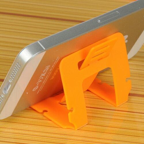 【省錢博士】-超低限購-新款卡片式可折疊懶人支架手機支架 / 不挑色