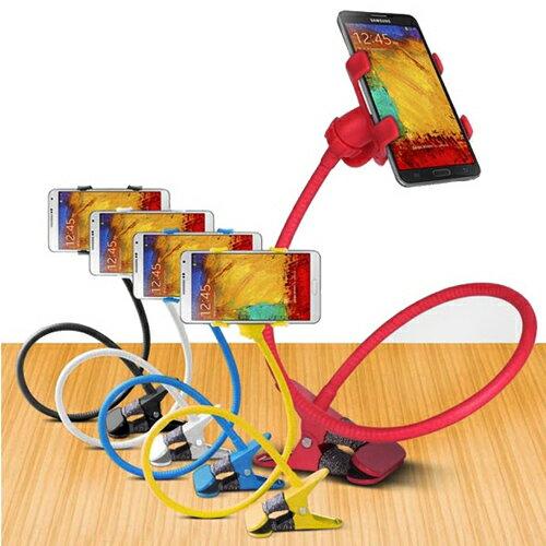 手機懶人支架/蛇管支架手機座/360度全方位旋轉【省錢博士】 - 限時優惠好康折扣