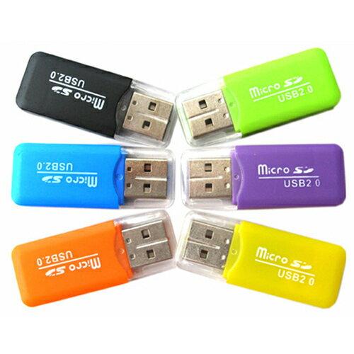 【省錢博士】USB讀卡機TF卡 / 手機記憶卡高速2.0多功能 / 隨機出貨
