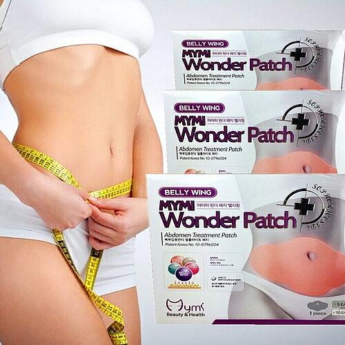 韓國熱賣mymi腹部專用溶脂瘦身貼wonder patch【省錢博士】5片入 0