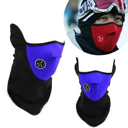 【省錢博士】冬季騎士戶外防風保暖口罩面罩 / 滑雪護臉面罩/三色可選 1