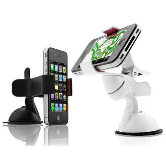 超強軟膠吸盤/車用手機架 手機夾 手機座/GPS導航支架【省錢博士】