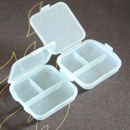 【省錢博士】加厚雙層6格透明藥盒 / 小物收納盒 / 顏色隨機