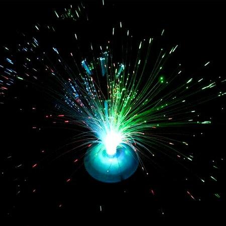 【省錢博士】閃光光纖花 / 發光纖燈 / 七彩滿天星變色閃光燈