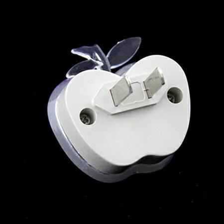 居家造型插座LED小夜燈【省錢博士】插頭式七彩小夜燈 1