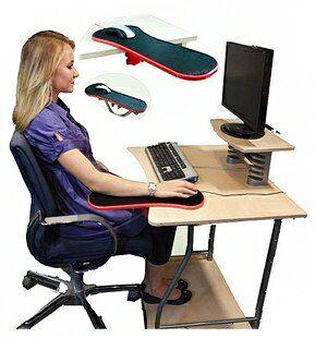 【省錢博士】第二代電腦手托板 / TV產品護腕托 / 可180度旋轉
