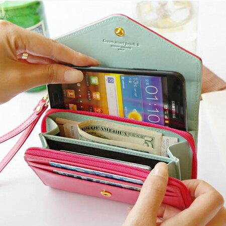 【省錢博士】短夾 / 韓版皇冠皮夾 / 手機包 / 零錢包 / 手拿包 0
