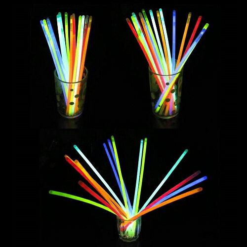 【省錢博士】螢光棒  /  每桶100支  /  5色混裝  /  晚會慶典必備 - 限時優惠好康折扣