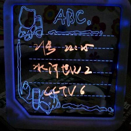 【省錢博士】電子螢光寫字板 / led手寫板 / 發光留言板廣告牌