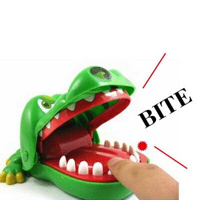 【省錢博士】大嘴咬手指瘋狂鱷魚 / 鱷魚玩具