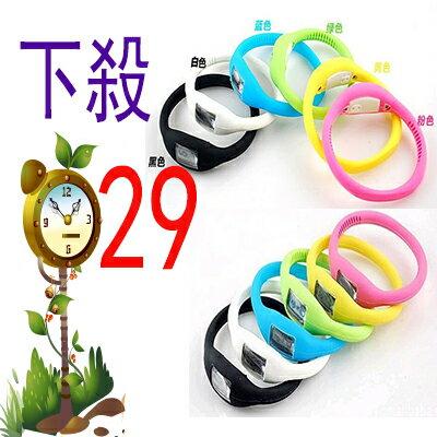 【省錢博士】矽膠運動手錶 / 防水學生手錶