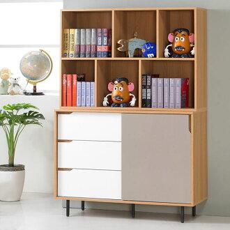 書櫃 開放式書櫃 大型書櫃 櫥櫃 展示櫃 置物櫃 收納櫃《Yostyle》曼特4尺收納書櫃
