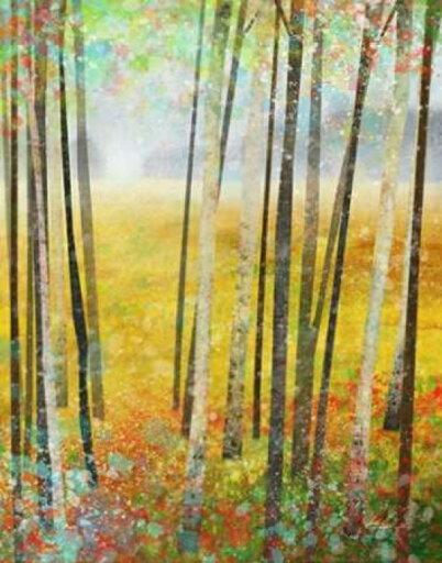 Autumn Meadows 2 Poster Print by Ken Roko (11 x 14) 80b071b8387b92e86c960f4b24892830