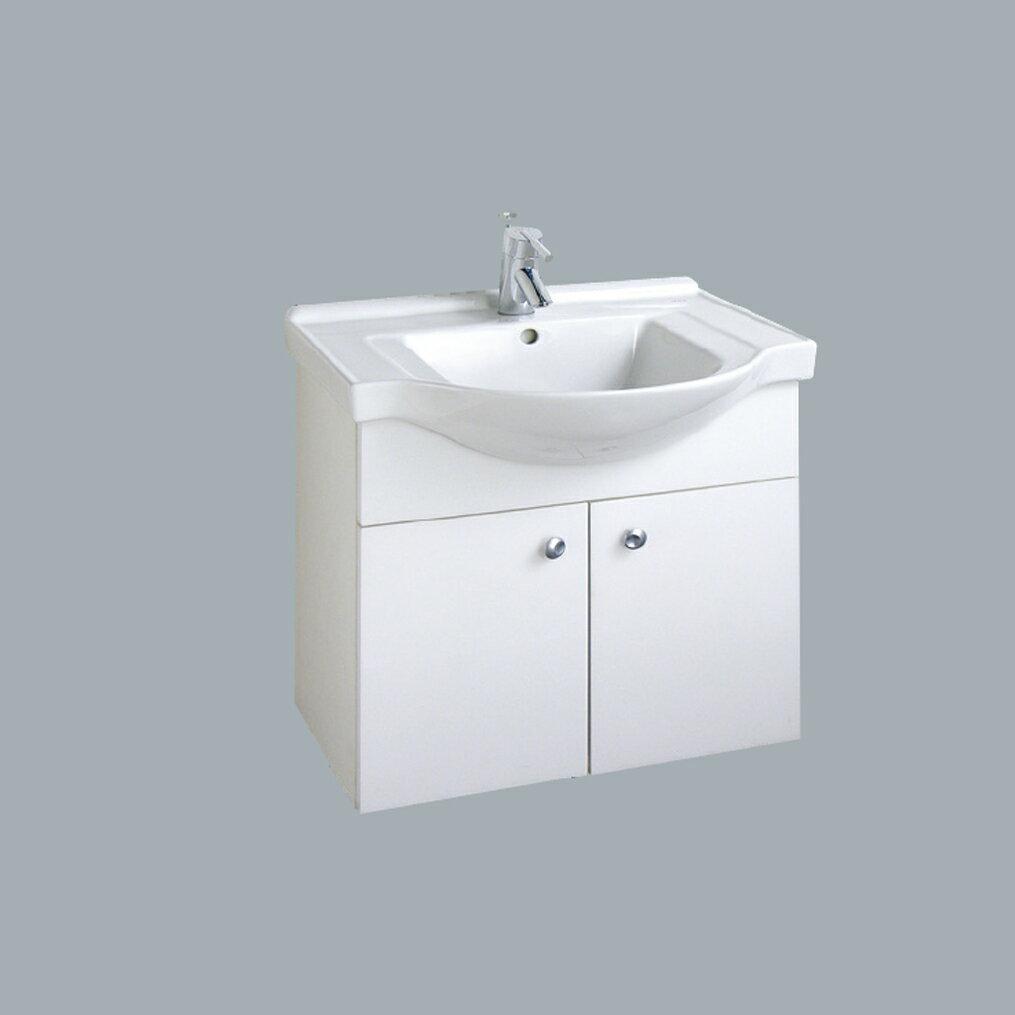 HCG臉盆浴櫃/不含水龍頭/L4176SAdb+LCS4176B