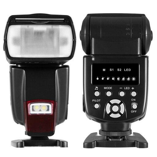 Flash Speedlite DSLR Cameras Digital Cameras Flash Light with Protecting Bag 26020416720371f0e23e2e573f70eaca