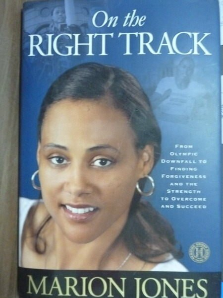 【書寶二手書T3/原文書_PNM】On the Right Track_Marion Jones
