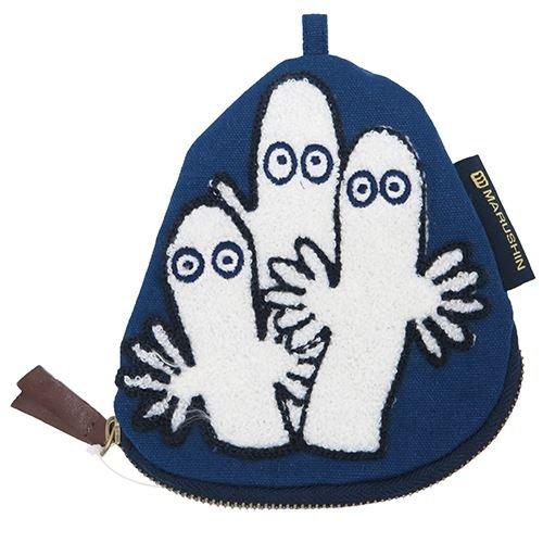 X射線【C574555】Moomin造型收納零錢包-溜溜們,零錢包/萬用包/包包/皮夾