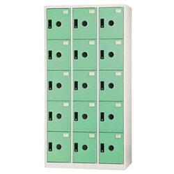【nicegoods】 多功能置物櫃/15格(ABS門片) -粉綠(收納櫃 整理櫃)