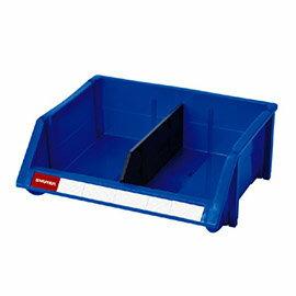 【nicegoods】耐衝擊整理盒(含隔板1片) (41.5x35.1x15.4)(塑膠盒 整理盒 收納盒)