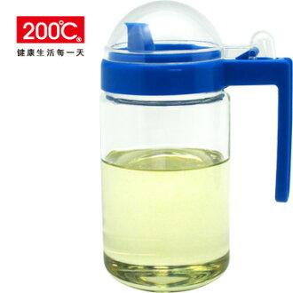 【200℃】傑西玻璃油醋瓶 500ml