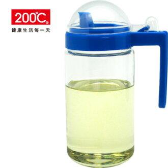 【200℃】瓊斯玻璃油醋瓶 600ml