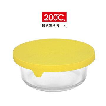 〔200℃〕矽膠蓋耐熱玻璃保鮮盒