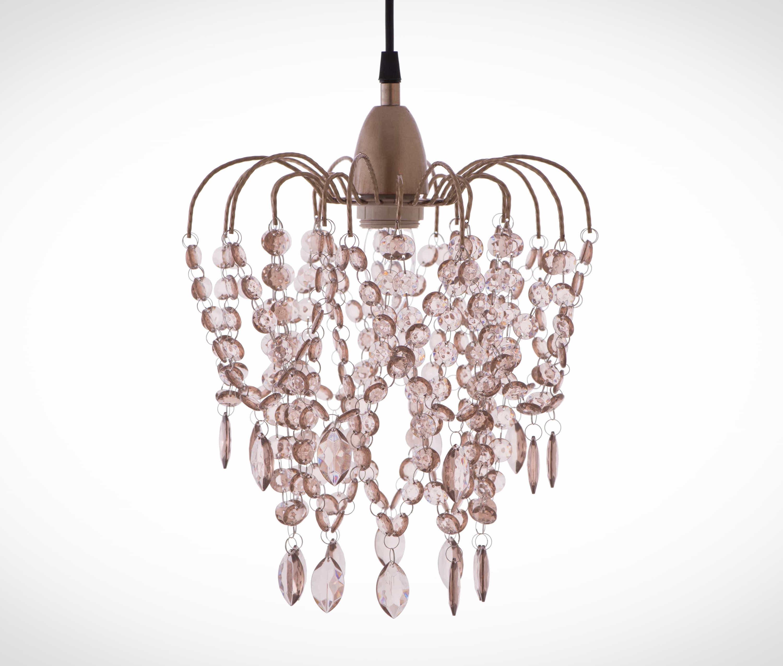 玫瑰金壓克力珠吊燈-BNL00047 1