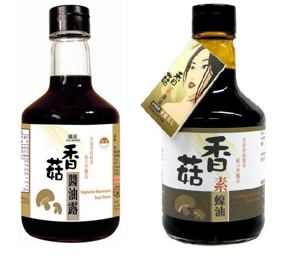 菇王 香菇素蠔油/香菇醬油露 300g