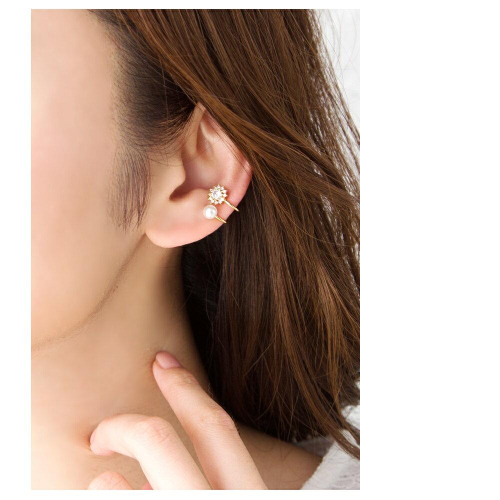 日本CREAM DOT /  花樣珍珠造型耳扣  / a02774 /  日本必買 日本樂天代購直送 5