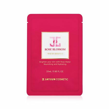 韓國JAYJUN紅玫瑰水光針面膜25ml(單片)面膜玫瑰面膜水光面膜RoseBlossomMask【B063173】