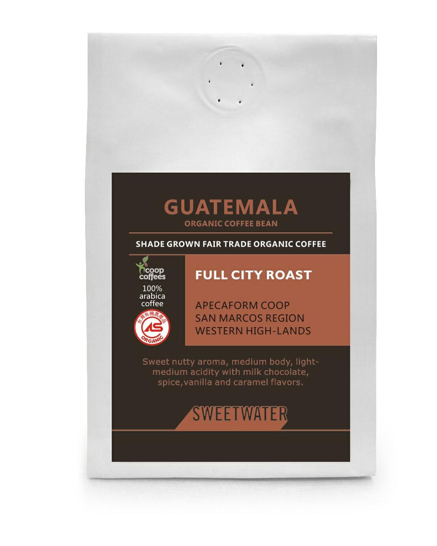 【SWEETWATER】瓜地馬拉有機咖啡豆---半磅(227g) - 限時優惠好康折扣