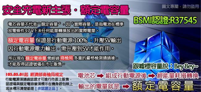 IWO台灣艾沃ES168-極致超薄救車行動電源 6000mAh (台灣BSMI認證)