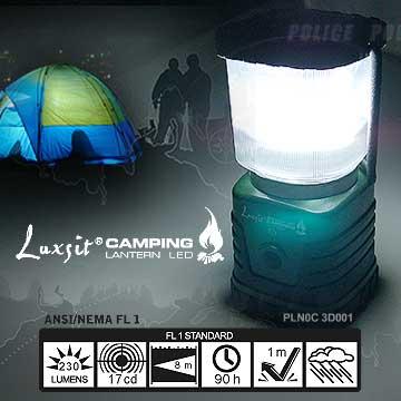 【露營趣】中和 LUXSIT PLNOC 3D001 1W LED高亮度野營燈 露營燈 大營燈 PLN0C 3D001