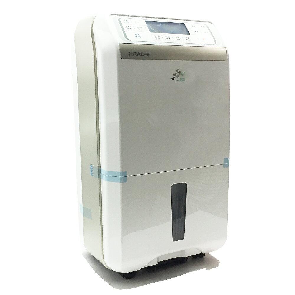 HITACHI日立10公升FUZZY感溫適濕負離子清淨除濕機 RD-200DS/RD-200DR (香檳金/晶鑽銀)