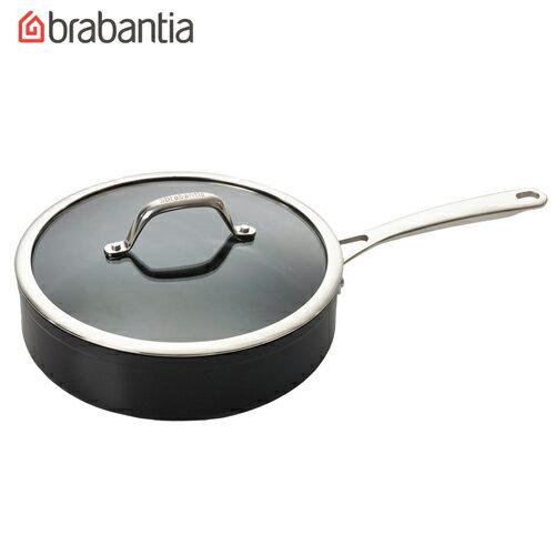荷蘭BRABANTIA Tritanium鈦系列24公分單把平底鍋  湯鍋