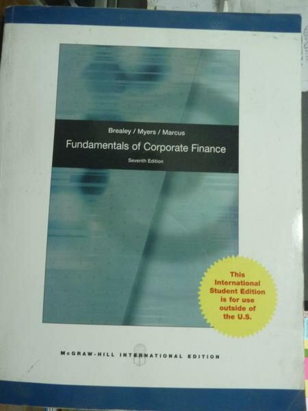 ~書寶 書T9/大學商學_PDO~Fundamentals of Corporate Fi