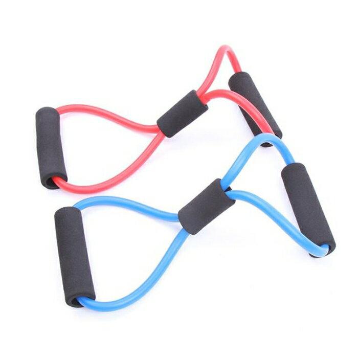 [Hare.D] 瑜珈八字繩 拉力繩 8字彈力繩 彈力帶 居家運動健身(單入)