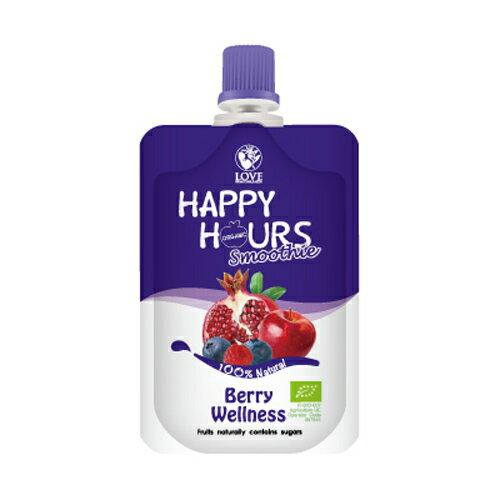 佑爾康金貝親 HAPPY HOURS 有機纖果飲 (蘋果/ 紅石榴/ 覆盆莓/ 藍莓)100g【悅兒園婦幼生活館】