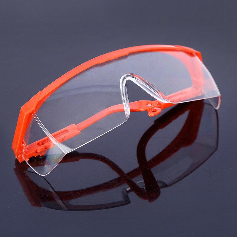 籃架伸縮腿防護眼鏡可調節防飛濺勞保護目鏡防沖擊訪客眼鏡